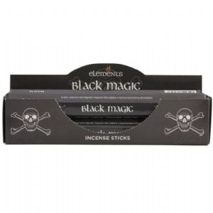 ELEMENTS INCENSE- BLACK MAGIC   -BOX OF  6 PACKS